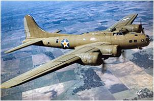 Boeing B-17   https://en.wikipedia.org/wiki/Boeing_B-17_Flying_Fortress